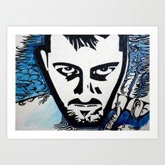 Autoritratto Inverso (Self-Inverse) Art Print