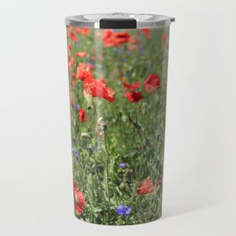 poppy flower no6 Travel Mug
