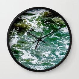 Impact Zone Abstract Wall Clock