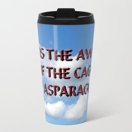Cage of Asparagus Travel Mug