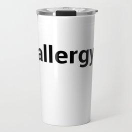 allergy Travel Mug