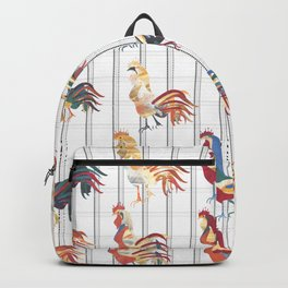 Modern Farmhouse Rooster Backpack