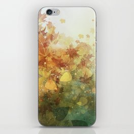 Autumn Whispers iPhone Skin