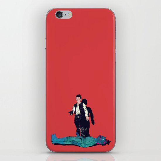 Over my dead body iPhone & iPod Skin