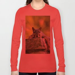 Relaxed Squirrel Long Sleeve T-shirt