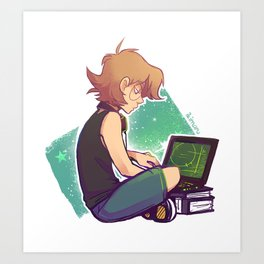 Tech Geek Art Print