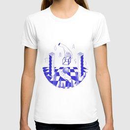 Blue Lucky 13 T-shirt
