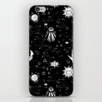 spiritual iPhone & iPod Skins featuring Spiritual Alchemy by Deborah Panesar Illustration