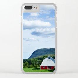 Vermont Farm Clear iPhone Case