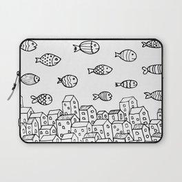 Underwater village Laptop Sleeve