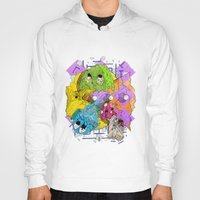 pacman Hoodies featuring Pacman by Jesús L. Yapor