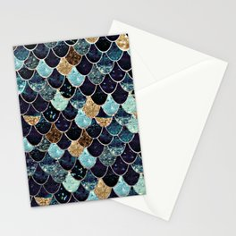 REALLY MERMAID - MYSTIC BLUE Stationery Cards