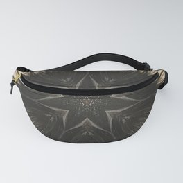 Crystal Grid Fanny Pack