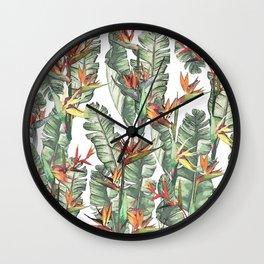 Bird of Paradise Wall Clock