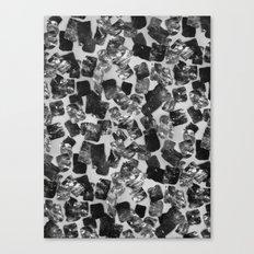 tear down (monochrome series) Canvas Print