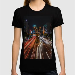 Naha Traffic in Color T-shirt