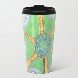 Glamourous  Succulent with Rings Travel Mug