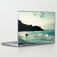 surf Laptop & iPad Skins featuring Surf by Hilary Upton