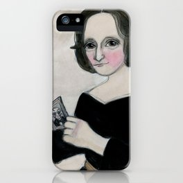 Mary Shelley and the Monster iPhone Case