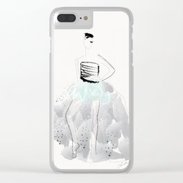 Here she comes Clear iPhone Case