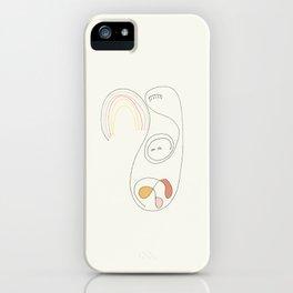 Sueño con Luces iPhone Case