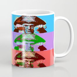 Aleister Crowley Pop Art Coffee Mug