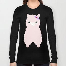 Alpaca In Love  Long Sleeve T-shirt