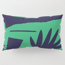 Jungle Grunge Pillow Sham