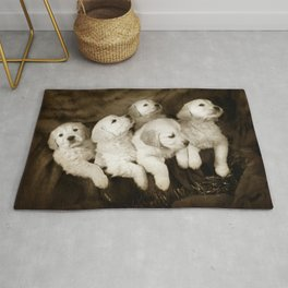 Labrador puppies Rug
