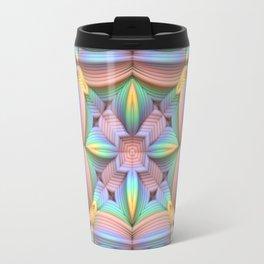 Symmetry in Pastels Travel Mug