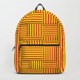 Wattle and daub wall Backpack
