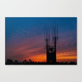 Capturing Sunset Canvas Print