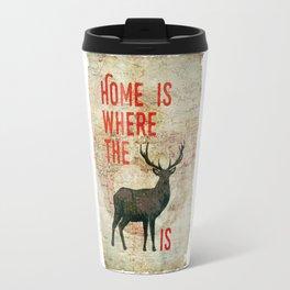 home is where the h(e)art is Travel Mug
