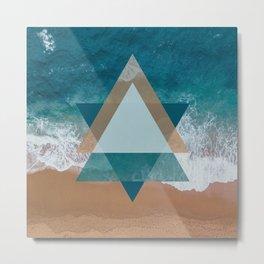 Modern Beach Metal Print