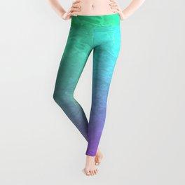 Aqua Sunset Leggings