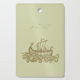Viking ship Cutting Board