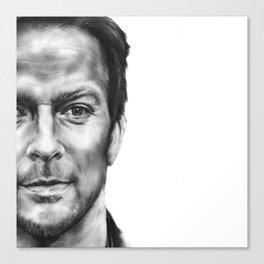 Half of Sean Canvas Print