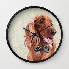 Mr. English Cocker Spaniel Wall Clock