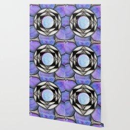 Doodled Gem Bloom Wallpaper