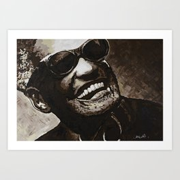 Georgia- Ray Charles Art Print