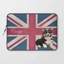 Royal Corgi Baby Laptop Sleeve