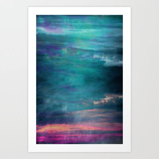 Ocean Sky Art Print