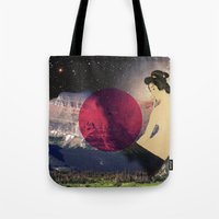 japan Tote Bags featuring Japan by Blaz Rojs