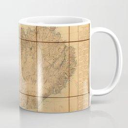 Map Of Iceland 1849 Coffee Mug