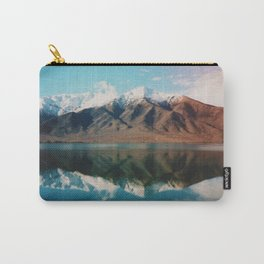 Film photo of New Zealand Glacier Landscape Carry-All Pouch