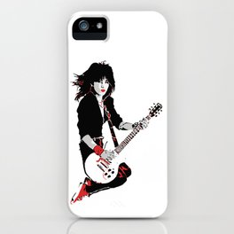 Joan Jett, The Queen of Rock iPhone Case
