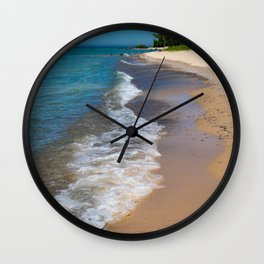 Lake_Michigan Beach, Charlevoix - II Wall Clock