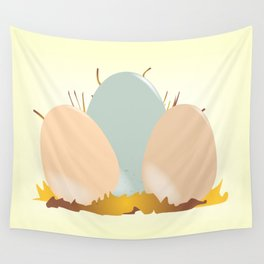 Cuckoo Eggs Wall Tapestry