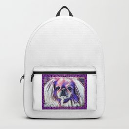 Peak in purple Backpack