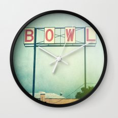 Bowl Wall Clock